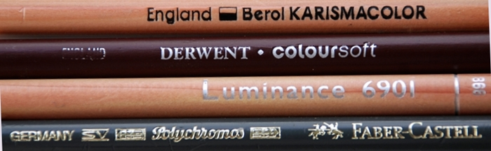 Coloured pencil image for coloured pencil comparison article