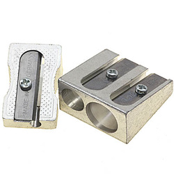 Single and double metal pencil sharpeners