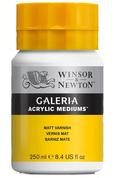 Galeria Matt varnish 250ml pot